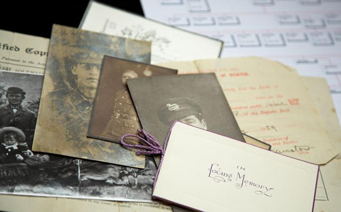 Old photos and genealogy-related items