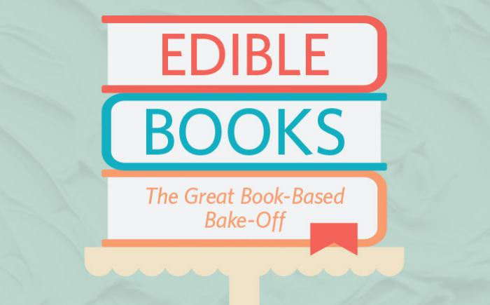 Edible Books program logo