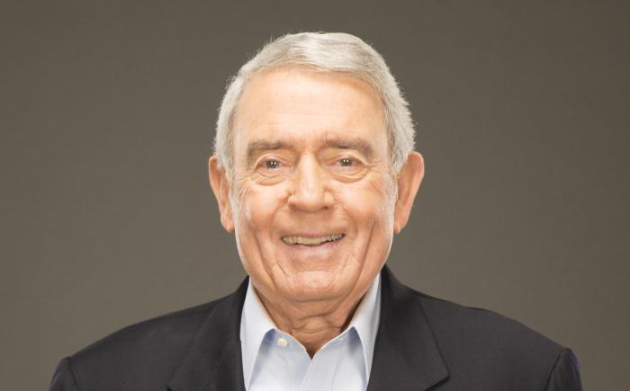 Journalist and author Dan Rather
