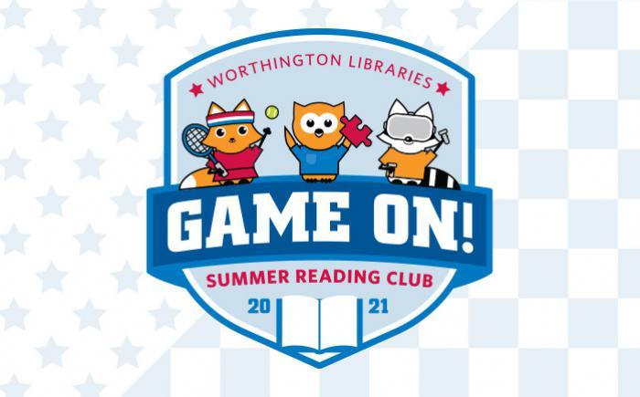 2021 summer reading club logo