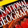National Geographic magazine masthead