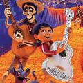Scene from Coco movie