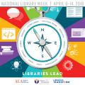 2018 National Library Week logo