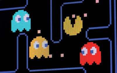 Pac-Man videogame screen
