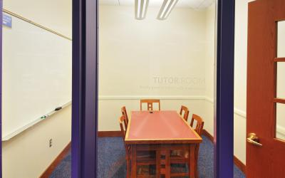 View inside Northwest Library Tutor Room