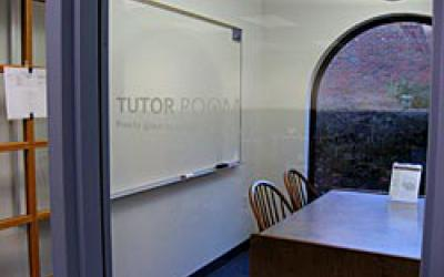 Looking inside Old Worthington Library tutor room