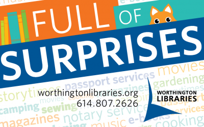 Full of Surprises library card