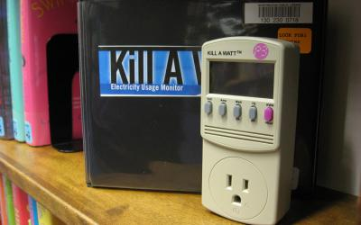 Kill A Watt energy meter