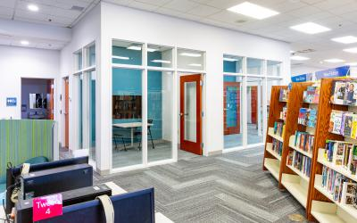 Study rooms A & B at Worthington Park Library