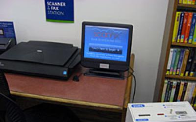 Scanner and fax station
