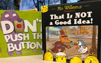 Two examples of Vox Books picture books
